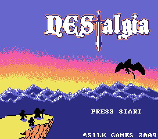 NEStalgia: a fun, free, enormous 8-bit MORPG Nestalgia_title
