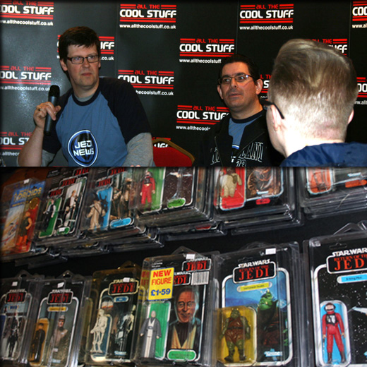 Farthest From II, The UK Star Wars Vintage Collectables Show 2nd 2012 December with Gus & Duncan FF1web1