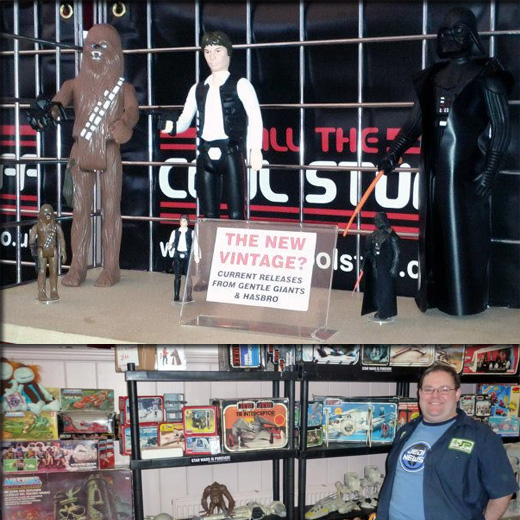 Farthest From II, The UK Star Wars Vintage Collectables Show 2nd 2012 December with Gus & Duncan FF1web3