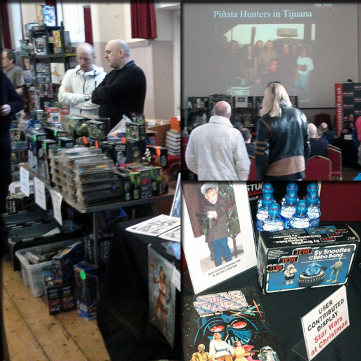 Farthest From II, The UK Star Wars Vintage Collectables Show 2nd 2012 December with Gus & Duncan FarthestFromIIWeb10copy