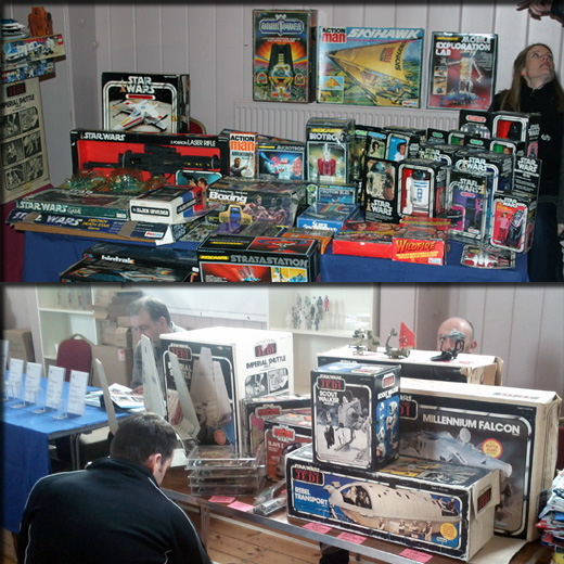 Farthest From II, The UK Star Wars Vintage Collectables Show 2nd 2012 December with Gus & Duncan FarthestFromIIWeb12copy