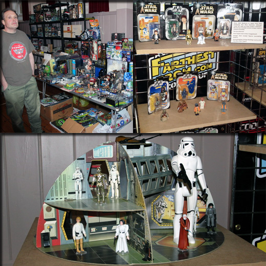 Farthest From II, The UK Star Wars Vintage Collectables Show 2nd 2012 December with Gus & Duncan FarthestFromIIWeb6copy
