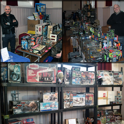Farthest From II, The UK Star Wars Vintage Collectables Show 2nd 2012 December with Gus & Duncan FarthestFromIIWeb7copy