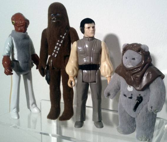 Farthest From II, The UK Star Wars Vintage Collectables Show 2nd 2012 December with Gus & Duncan FarthestFrom_FlockFour