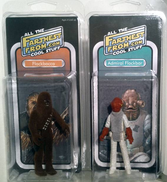 Farthest From II, The UK Star Wars Vintage Collectables Show 2nd 2012 December with Gus & Duncan FarthestFrom_FlockWave1