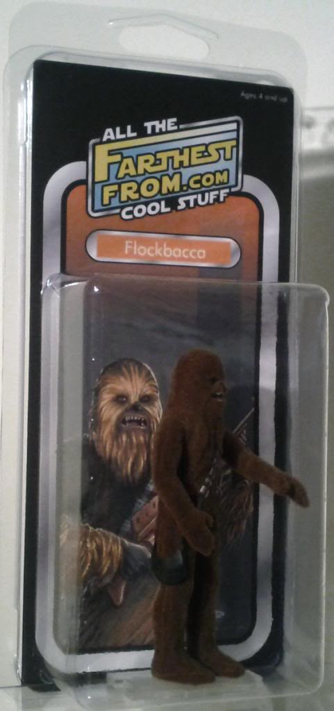 Farthest From II, The UK Star Wars Vintage Collectables Show 2nd 2012 December with Gus & Duncan FarthestFrom_Flockbacca