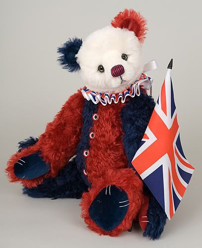 Victor - UK entry 'Teddy Bear Olympic Challenge', please vote! Victor_Paula_Carter_United_