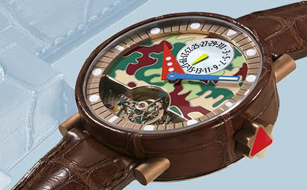 Interview exclusive d'Alain Silberstein CollectionAlligatorTourbillon