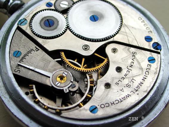 horlogerie américaine Elgincalibredtail7copie