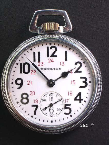 horlogerie américaine Hamiltoncotcadran4copie