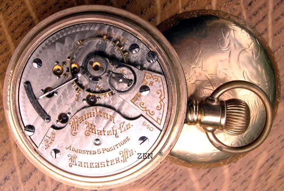 horlogerie américaine Hamiltonpocketcalibre1copie