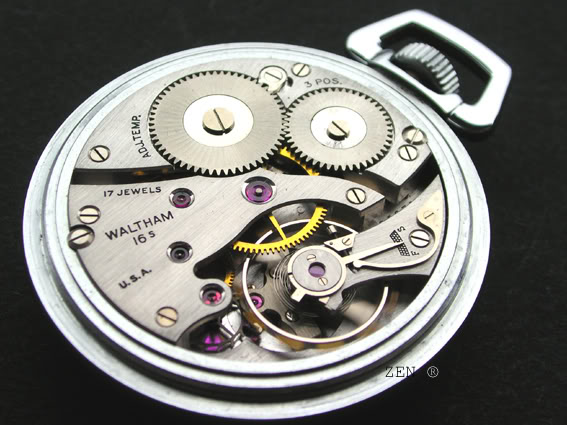 horlogerie américaine Walthamcalibre