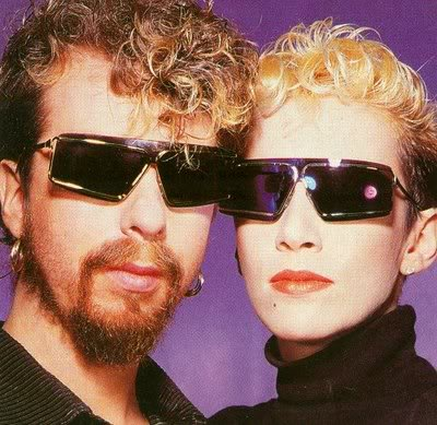 RECORDS ARE BETTER THAN PEOPLE Eurythmics