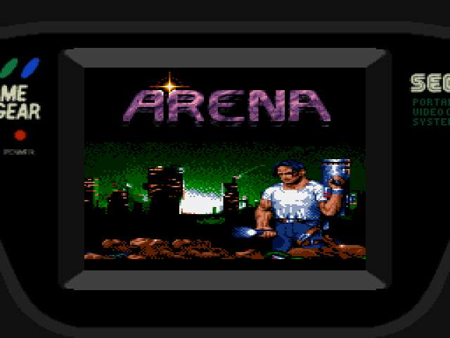 Test Game Gear : Arena ARENAMOD000