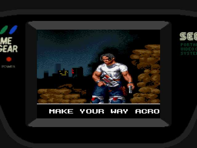 Test Game Gear : Arena ARENAMOD001