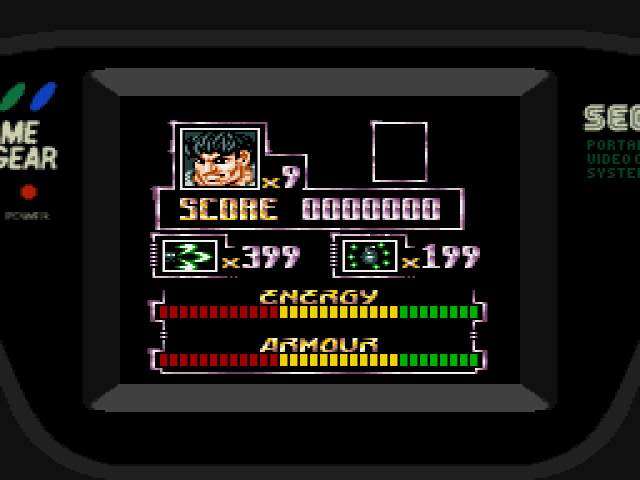 Test Game Gear : Arena ARENAMOD002