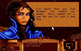 Test Megacd : Dune Chani