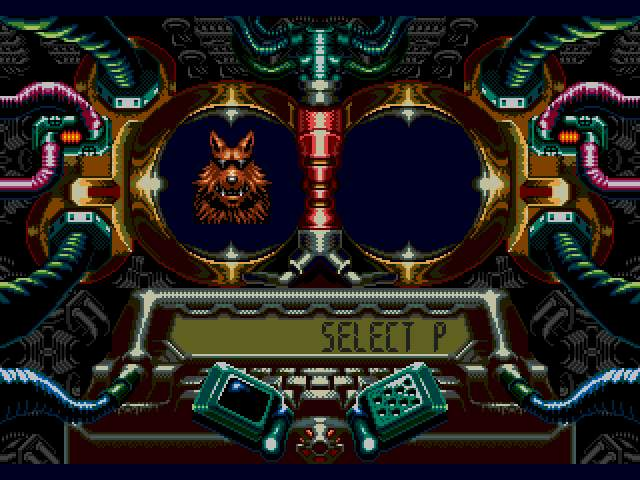 Test Genesis : Contra Hard Corps. Contra-HardCorps003