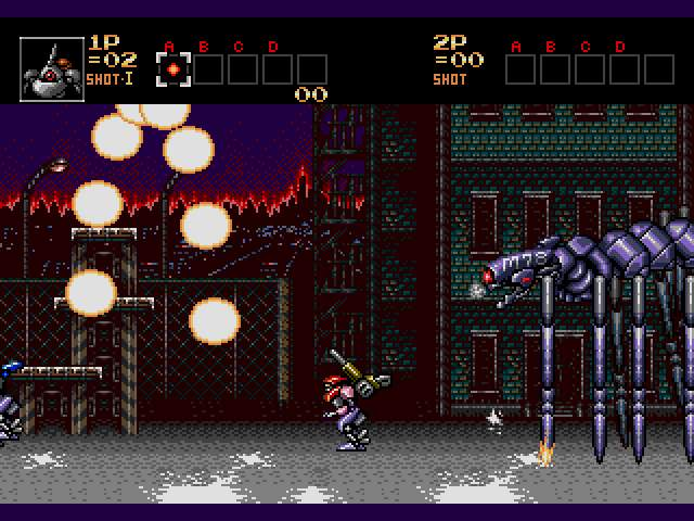 Test Genesis : Contra Hard Corps. Contra-HardCorps005