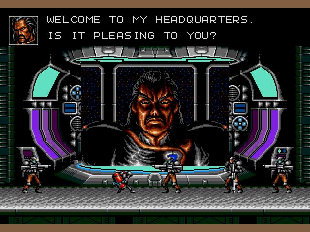 Test Genesis : Contra Hard Corps. Contra-HardCorps015