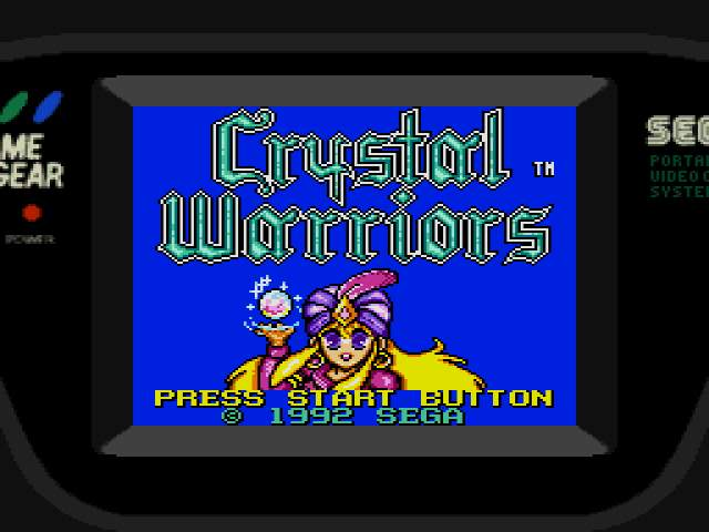 Test Game Gear : Crystal Warriors CrystalWarriors000