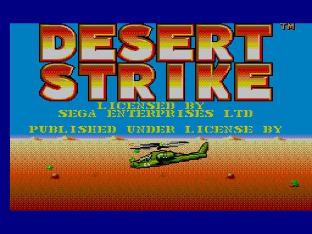 Test : Desert Strike DesertStrikeUE000