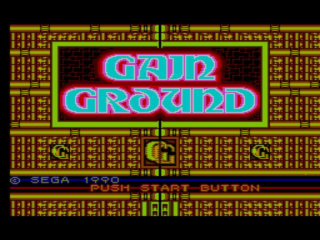 Test : Gain Ground GainGround000