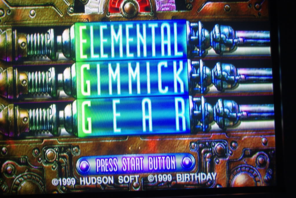 Test Dreamcast : Elemental Gimmick Gear IMGP9075
