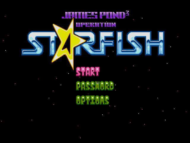 Test : James Pond 3 JamesPond3-OperationStarfishUEJ001