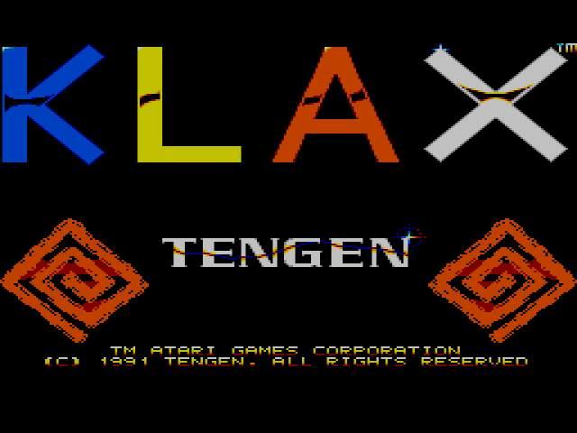 Test : Klax Klax008