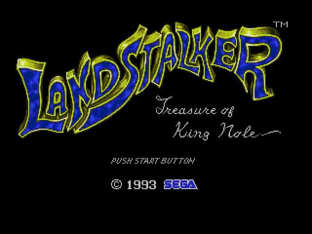 Test Megadrive : Landstalker LANDSTAL000