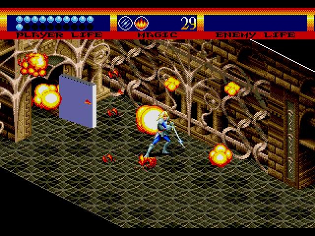 Test Megadrive : Light Crusader LightCrusaderEM4f1015