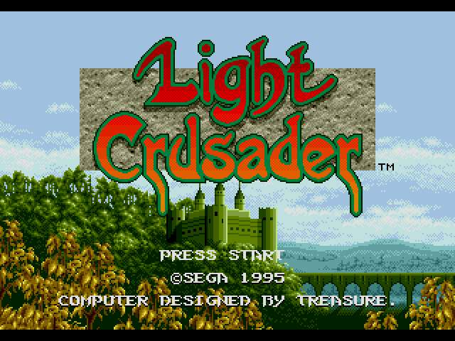 Test Megadrive : Light Crusader LightCrusaderEM4f1021