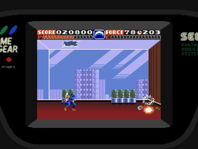 Test : Ninja Gaiden Game Gear NinjaGaiden005