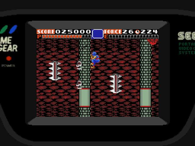 Test : Ninja Gaiden Game Gear NinjaGaiden008