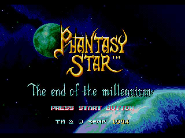 Test Megadrive : Phantasy Star 4 PSTAR4001