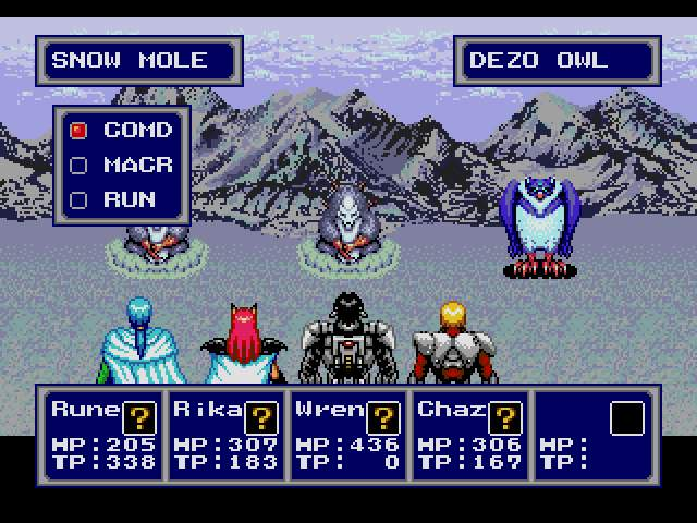 Test Megadrive : Phantasy Star 4 PSTAR4004