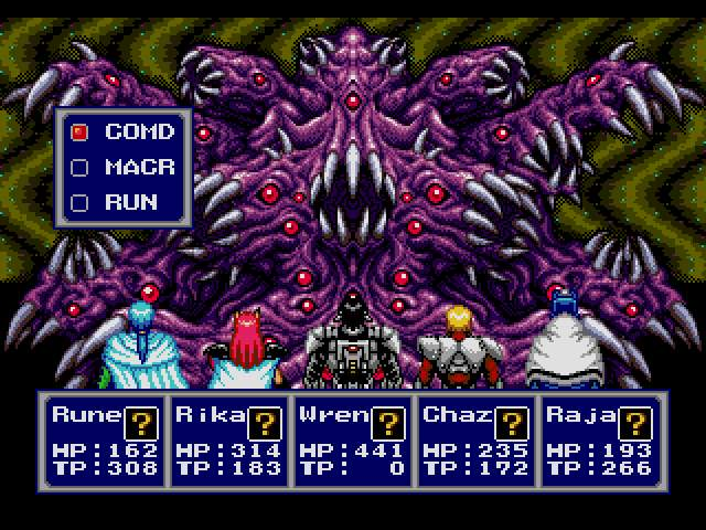 Test Megadrive : Phantasy Star 4 PSTAR4010