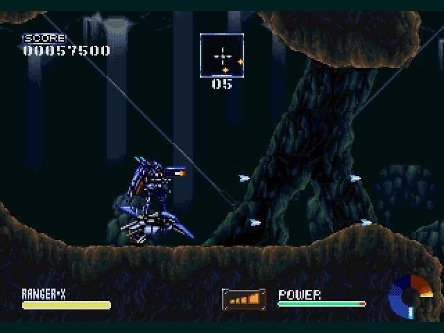 Test Megadrive : Ranger-X Ranger-X002