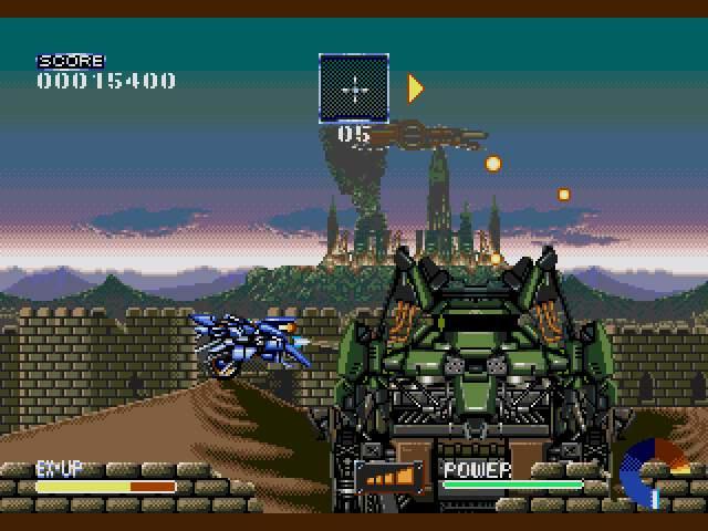 Test Megadrive : Ranger-X Ranger-X005