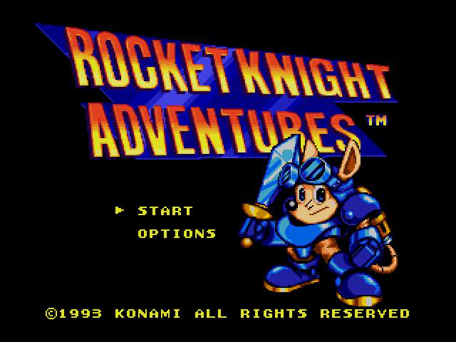 Test Megadrive : Rocket Knight RocketKnightAdventuresU000