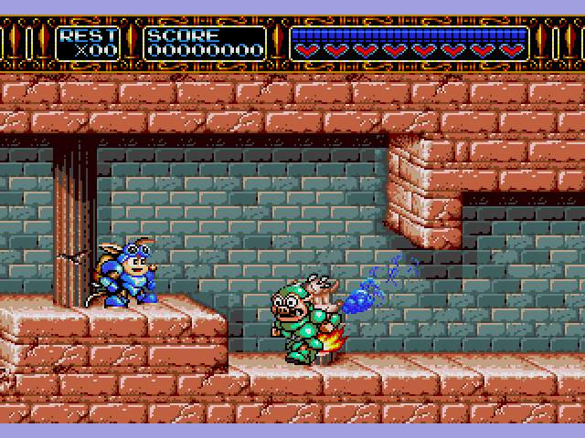 Test Megadrive : Rocket Knight RocketKnightAdventuresU001