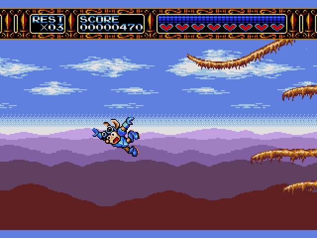 Test Megadrive : Rocket Knight RocketKnightAdventuresU010
