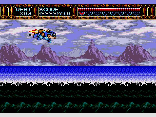 Test Megadrive : Rocket Knight RocketKnightAdventuresU011