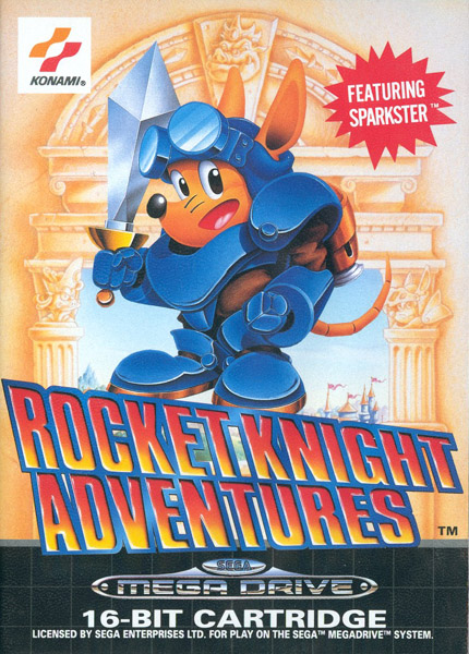 Test Megadrive : Rocket Knight RocketNight
