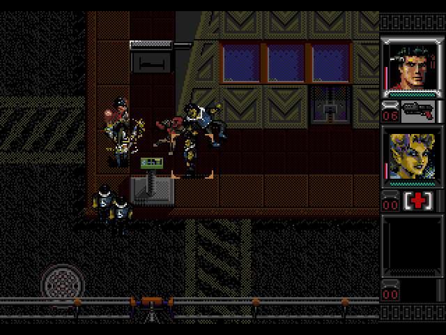 Test Megadrive : Shadowrun SHADORUN006