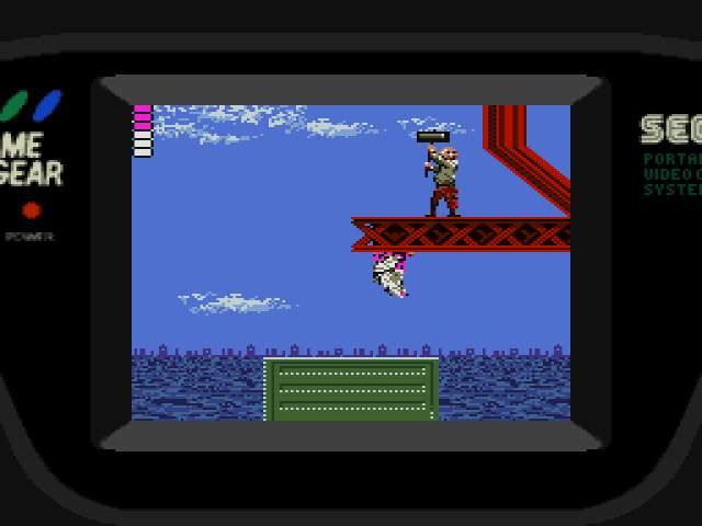 Test GameGear : Shinobi SHINOBI007