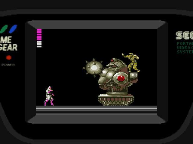 Test GameGear : Shinobi SHINOBI008