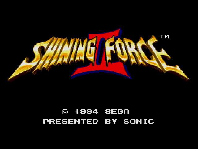 Test Megadrive : SF2 ShiningForce2Uh2000