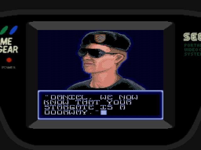 Test GameGear : Stargate StargateUE002